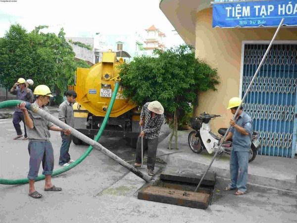 hút bể phốt tại Bắc Giang