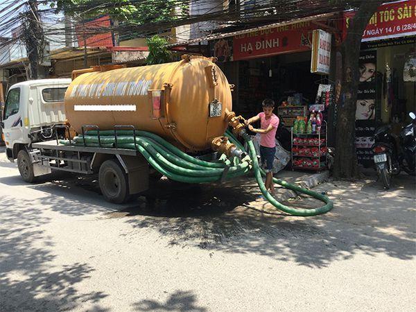 hút bể phốt tại Nam Định