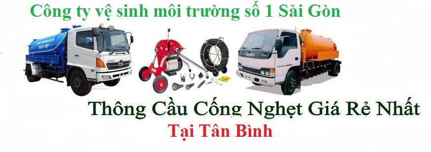 Thông Cống Nghẹt Quận Tân Bình